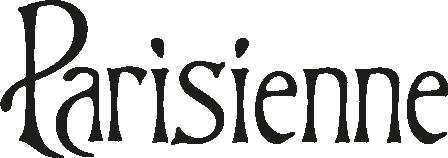 Parisienne logo zwart