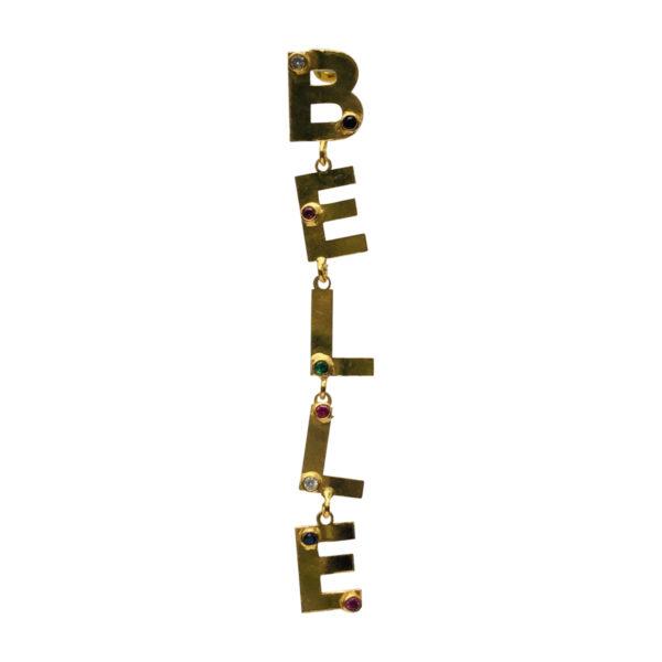 BerNice Brass gold plated semiprecious stones