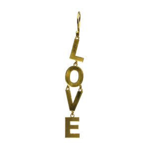 Love BerNice Brass gold plated