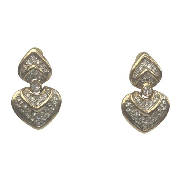 BerNice Haute Couture Runway 70-80's jewellers Paris semi-precious stones Zirkonia GoldPlated
