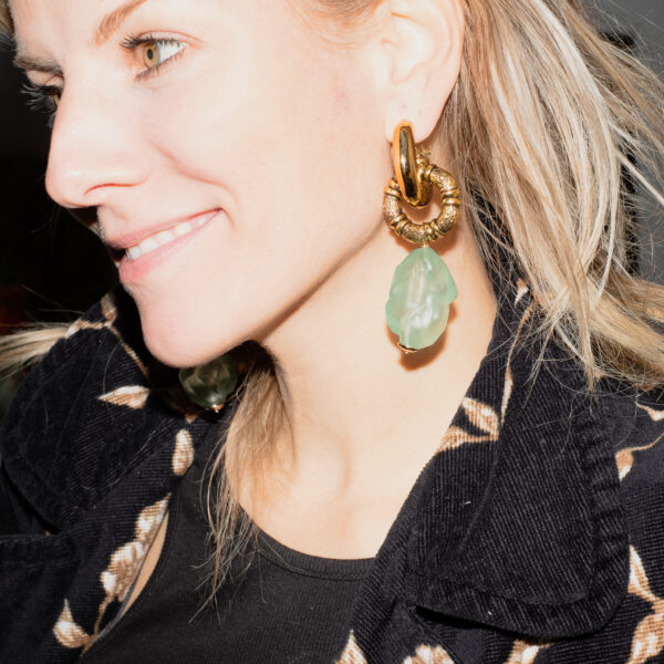 BerNice Runway resin earring