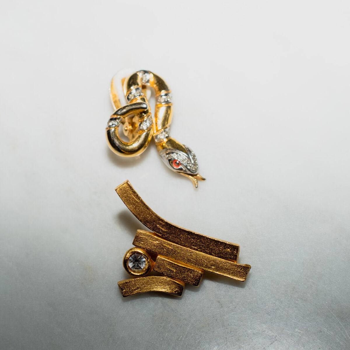 Haute Couture Runway earring Il Etait Une Fois and Pierre Cardin Paris