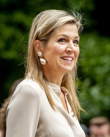 Queen Maxima Bernice earrings